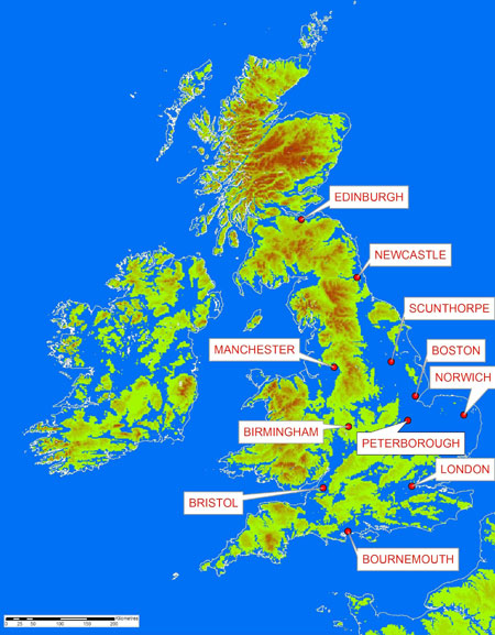 What Causes Sea Level Change Astronomy And Geography - Sea level rise map 2050