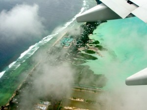 Tarawa from the air