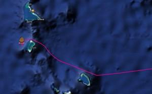 Niu Hae Akala avoids atolls