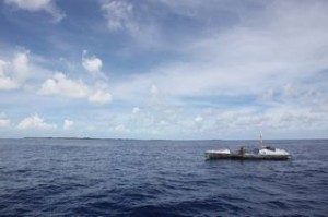 Arriving in Tarawa on Sept 6. In 40 years these islands will be uninhabitable thanks to climate change.