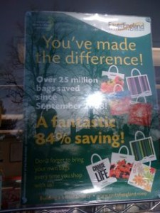 Sign spotted by Alison in Essex - You've made the difference!
