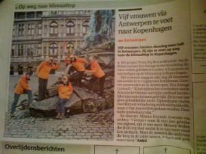 Team BB2B in Antwerp