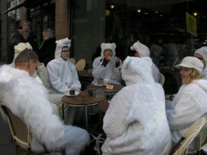 If you can find polar bears tucking into chocolate cake, then surely anything is possible in Copenhagen....
