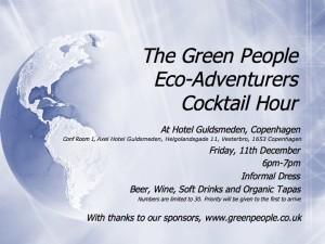 Eco Adventurer Cocktail Hour