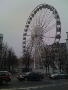 Look familiar? Not the London Eye, but let's hope some eyes are opened here in Copenhagen this week