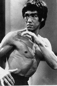 Bruce Lee. Who is not my weatherman.
