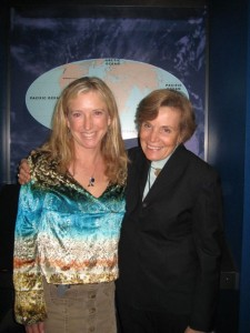 With the renowned marine explorer Dr Sylvia Earle, in whose honour TED Mission Blue is being held