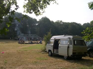(above: the van at Vann)