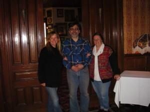 In Fenton, MI, with Chuck and Sue Julian