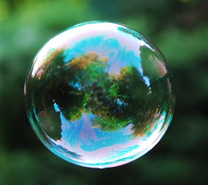 Does the size of your bubble match the size of your aspirations?