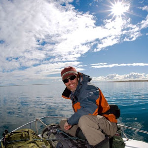 Kevin Vallely in the Northwest Passage
