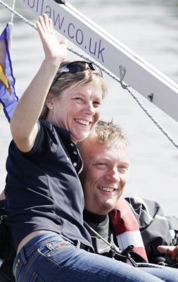Geoff with his wife Elaine