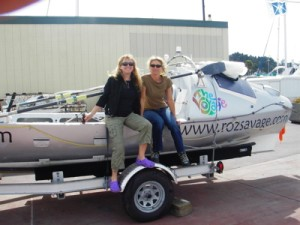 The end of the road: Roz and Suzy with Sedna at KKMI