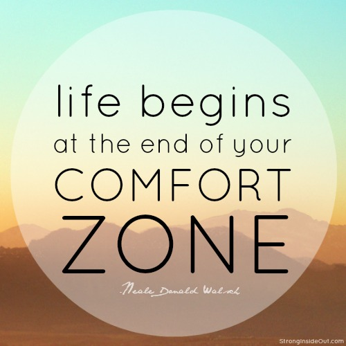 Getting Outside Your Comfort Zone Is Uncomfortable (Duh!)