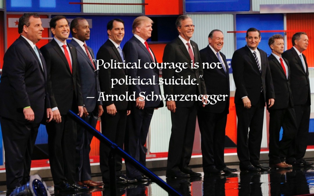 The Art of Living Courageously Week 11: Political Courage