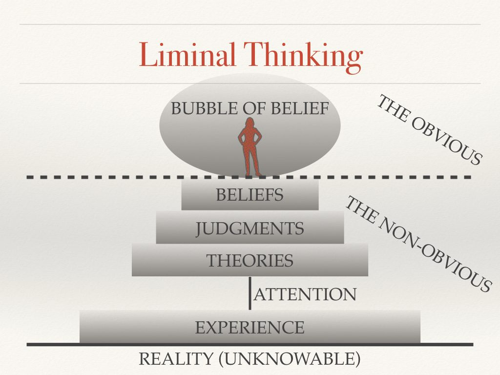 liminal thinking create the change you want by changing the way you think