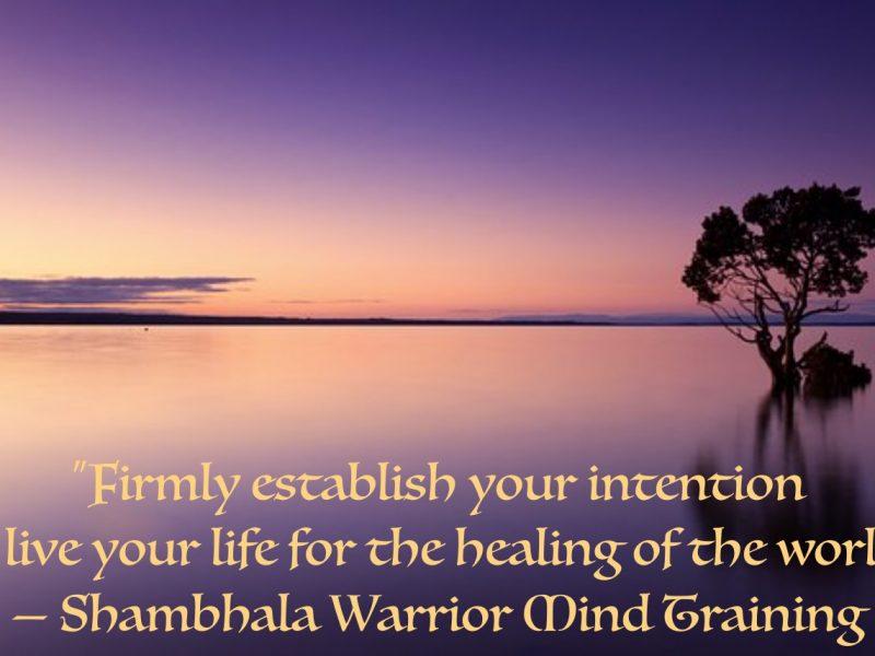 Shambhala Warrior Mind Training