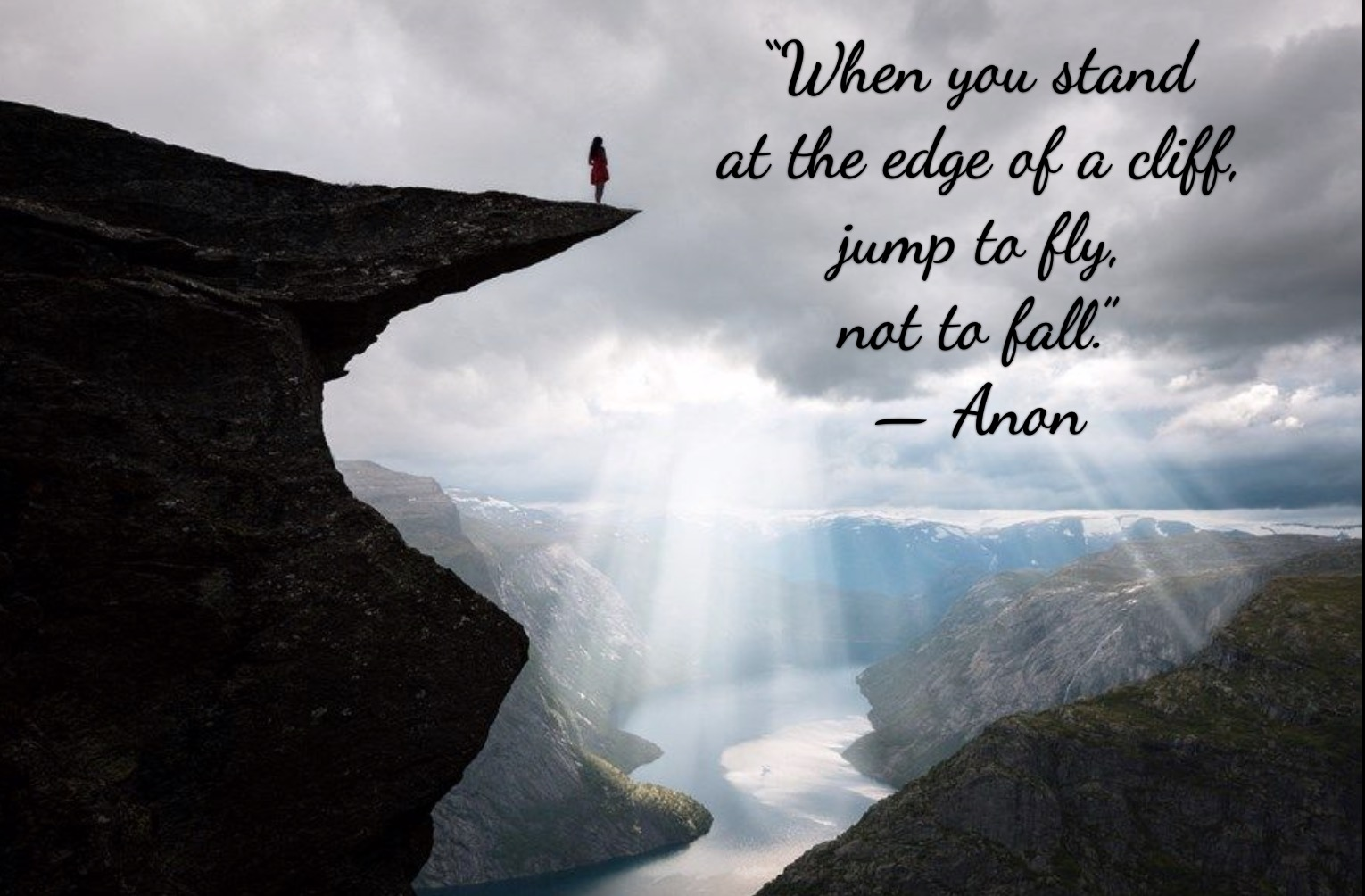 If You're Not Living On The Edge…